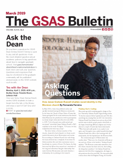 Cover of March 2019 Bulletin