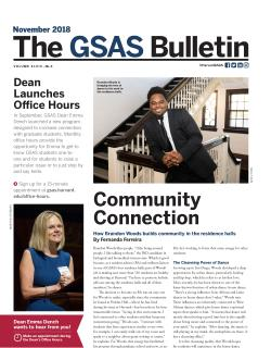Cover of the GSAS Bulletin, November 2018