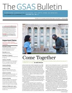 Cover of the December 2011 January 2012 issue of the GSAS Bulletin