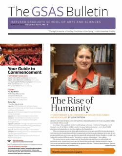 cover of the gsas Bulletin March 2015