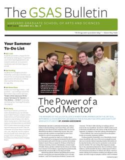Cover of the May 2012 issue of the GSAS Bulletin