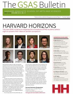 Cover of the May 2013 issue of the GSAS Bulletin