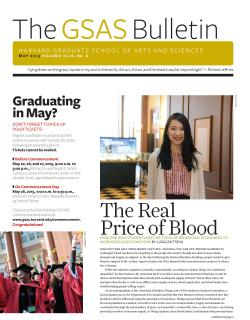 Cover of the gsas Bulletin May 2015