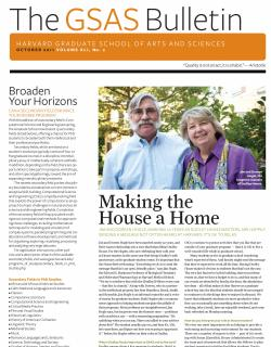 Cover of the October 2011 issue of the GSAS Bulletin