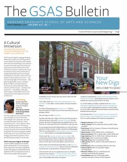 Cover of the September 2011 issue of the GSAS Bulletin