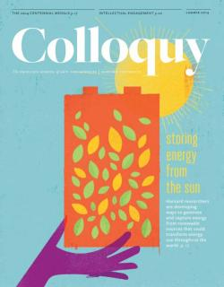 Colloquy cover Summer 2014