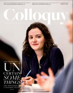Colloquy cover Summer 2015