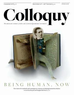 Colloquy cover Spring 2016 issue