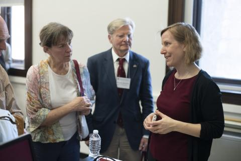 Amy Wagers Alumni Day 2019