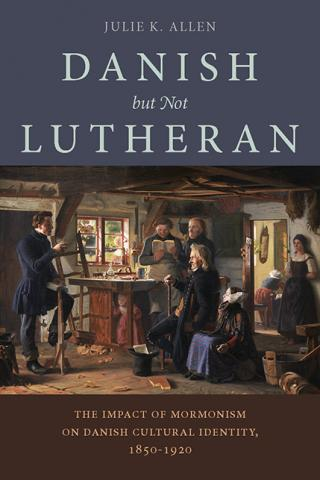Book cover: Danish but not Lutheran