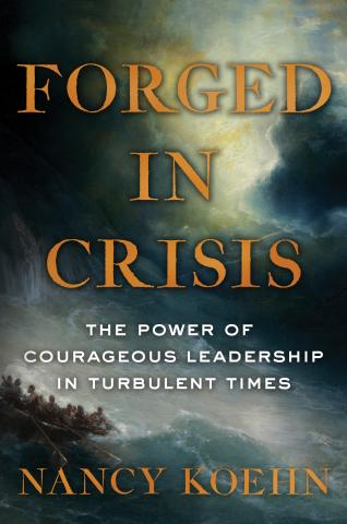 Book cover: Forged in Crisis
