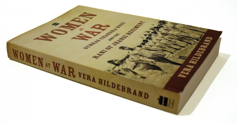 Book Cover, Women at War