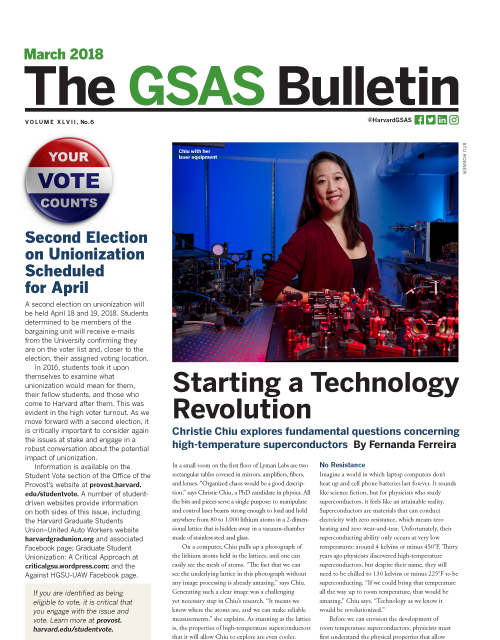 March 2018 Bulletin Cover