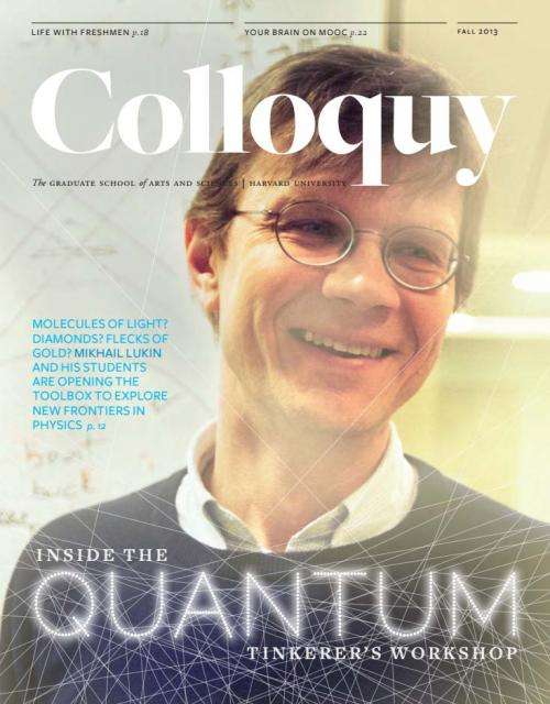 Colloquy cover Fall 2013