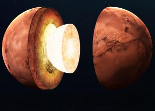The core of Mars