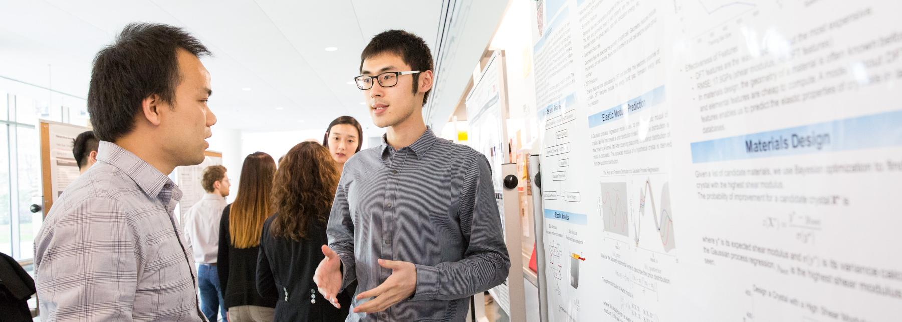 Scientific poster presentation