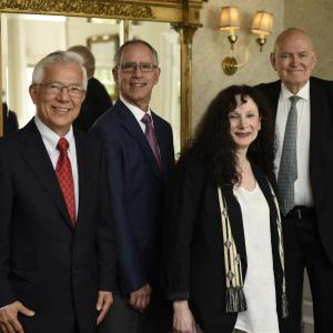 Centennial Medalists 2018: Choon Fong Shih, Harold Luft, Beth Adelson, and Guido Goldman